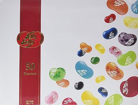 Jelly Belly Pack Regalo 50 sabores oficiales - 600 g: Amazon.es ...