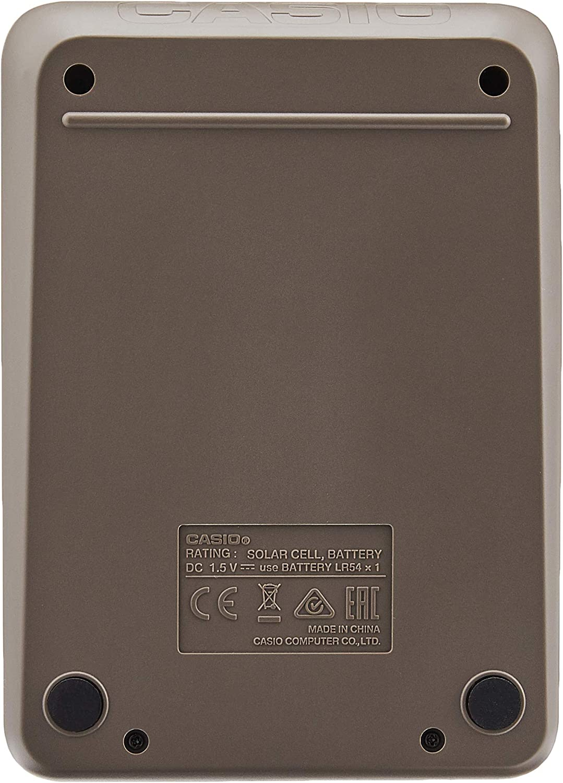 CASIO MX-12B-BK - Calculadora de sobremesa - 12 Dígitos - Solar y ...