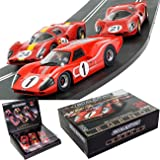 Scalextric 1967 Lemans Triple Pack, Ford Mkiv & Ferrari 330 P4 #21 & #