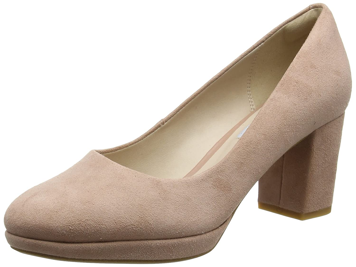 Clarks Damen Kelda Hope Pumps39.5 EU|Pink (Dusty Pink)