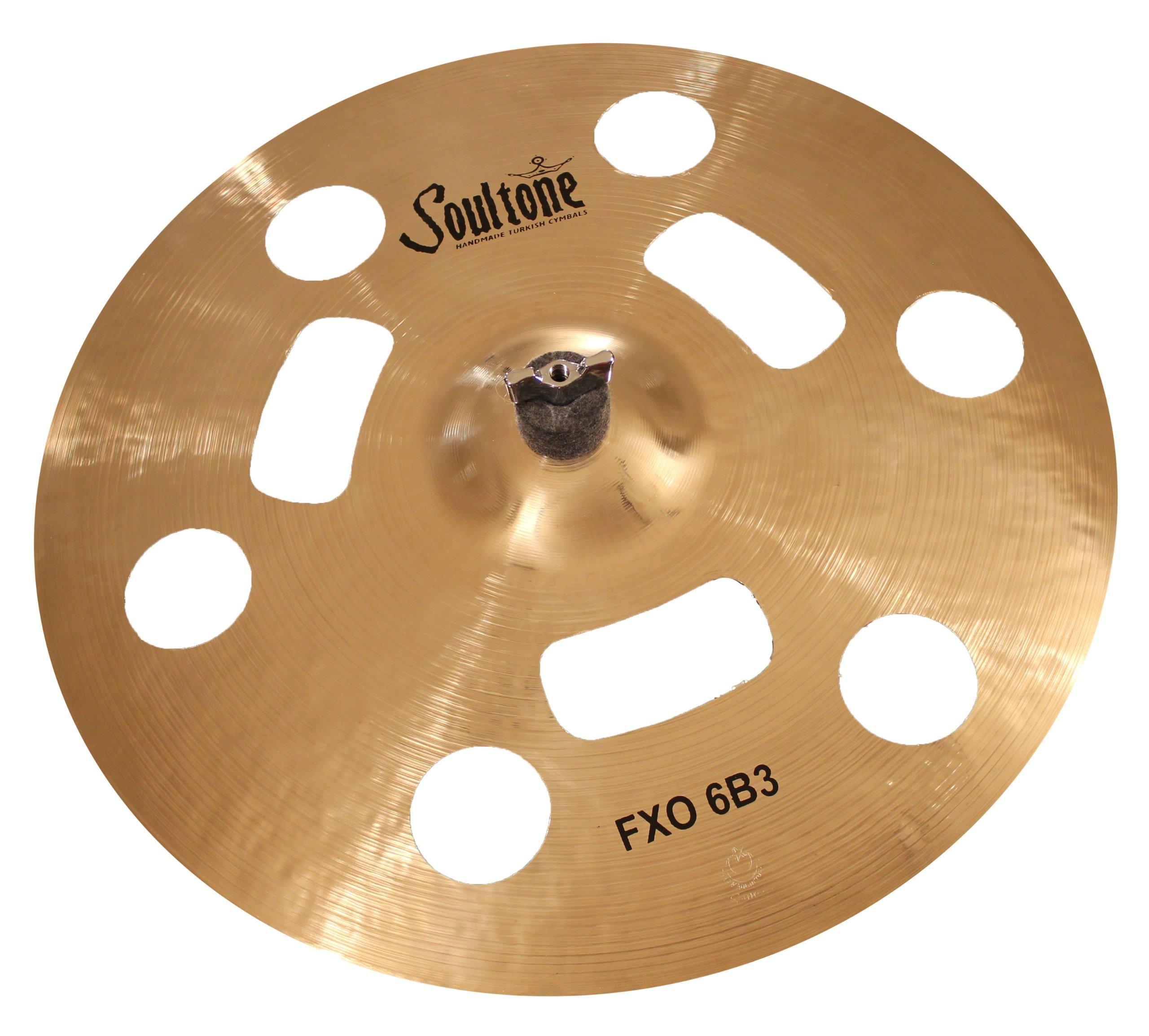 Soultone Cymbals F6B3-FXO22-22'' FXO 6B3 Crash by Soultone Cymbals