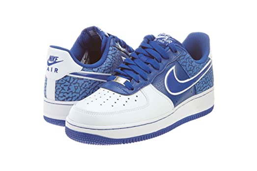 Nike Air Force 1 Mens Basketball Shoes 488298-416 Hyper Blue 8.5 M US