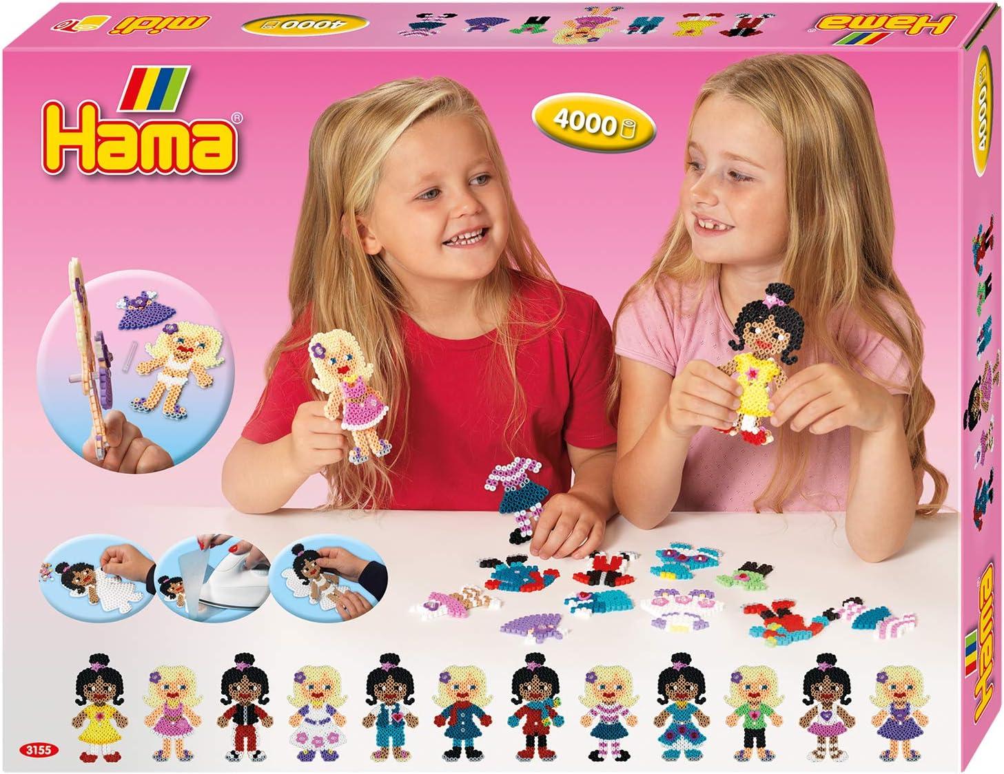 Hama Beads Juego de Cuentas, Multicolor (Matle Haaning Plastics 10.3155)