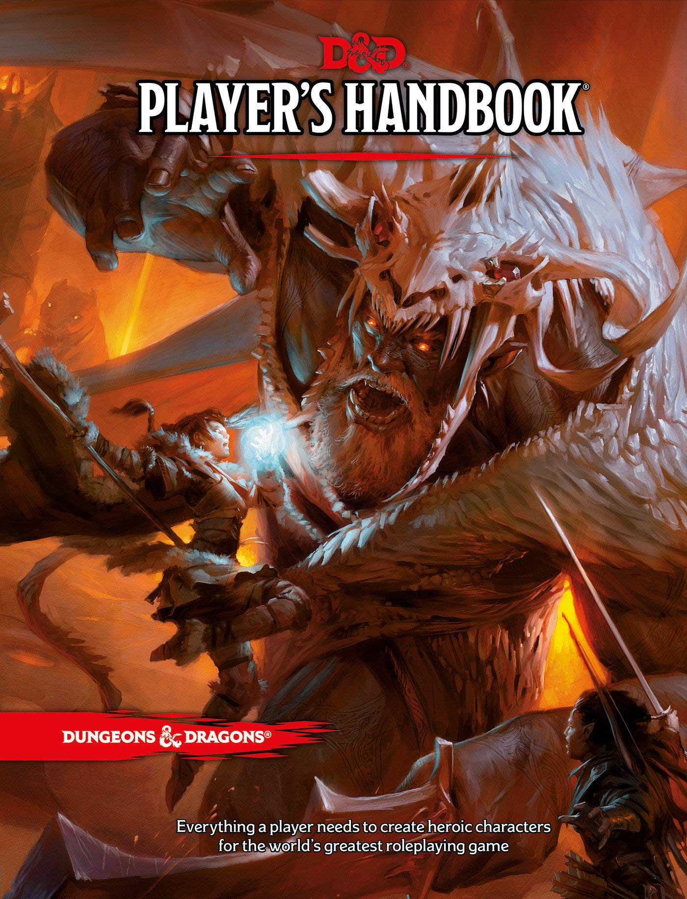 Player's Handbook (Dungeons & Dragons) by Dungeons and Dragons