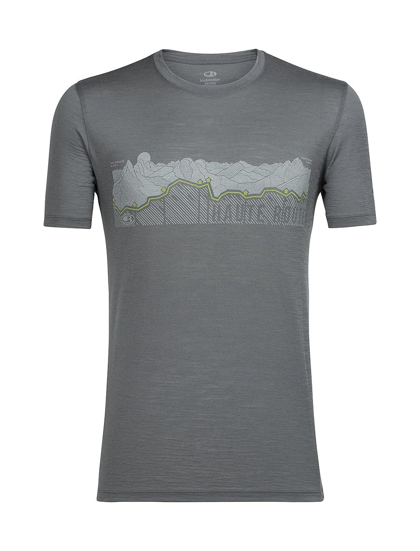 1db0d661b Icebreaker Merino Tech Lite T-Shirt W/Graphic, New Zealand Merino Wool