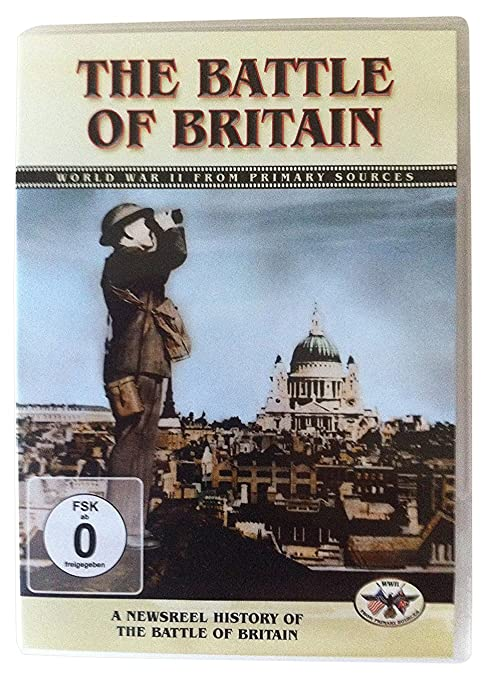 Battle Of Britain A Newsreel Histor: Komet Military Edizione: Regno Unito Reino Unido DVD: Amazon.es: Cine y Series TV