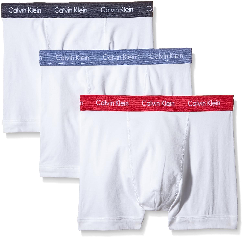 Calvin Klein Men's Pack of 3 Cotton Trunk