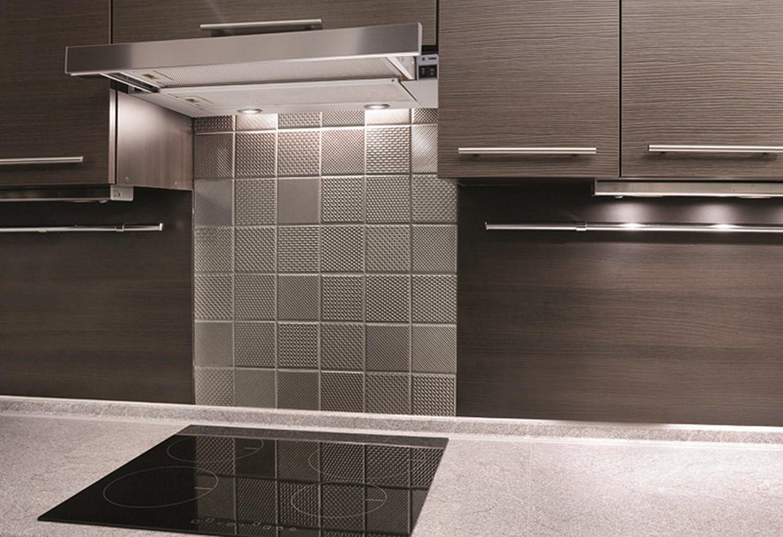 Campana extractora de acero inoxidable para campana de 60 cm de Bayer, fabricada en la UE, 550 m3/h: Amazon.es: Grandes electrodomésticos