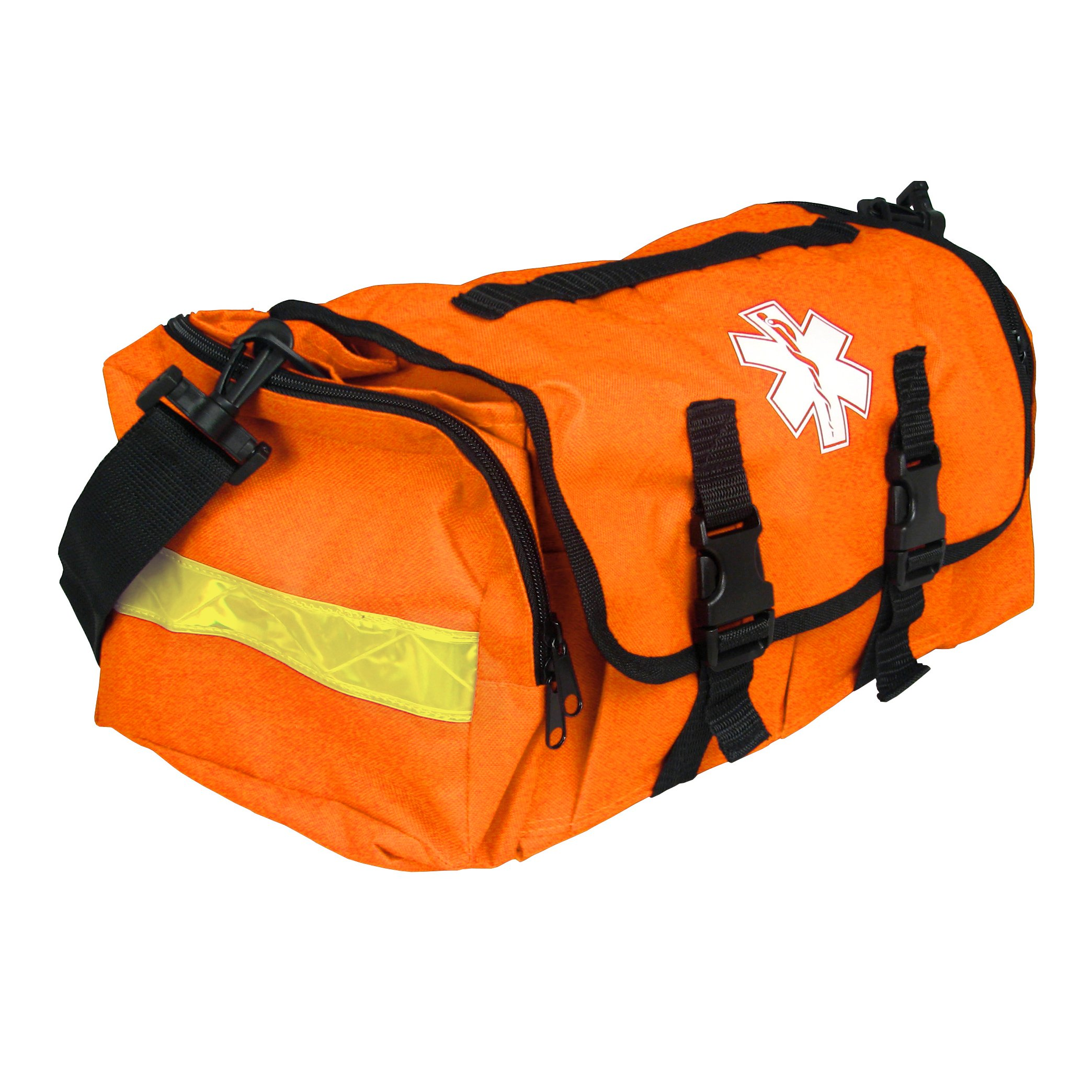 Empty First Responder On Call Trauma Kit Bag W/ Reflectors Orange