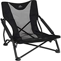 $37 » Cascade Mountain Tech Compact Low Profile Outdoor Folding Camp Chair with Carry Case