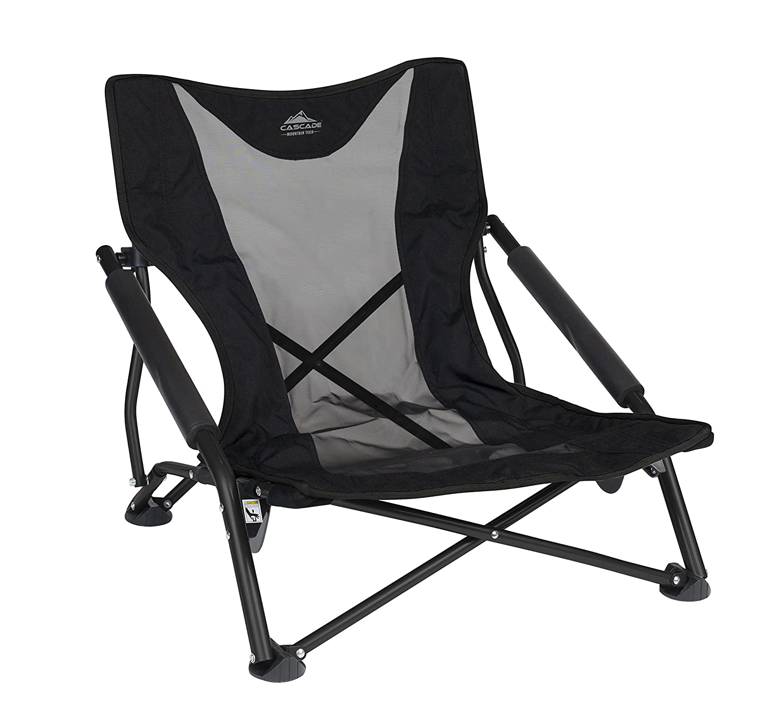 Astonishing Cascade Mountain Tech Compact Low Profile Outdoor Folding Camp Chair With Carry Case Gmtry Best Dining Table And Chair Ideas Images Gmtryco