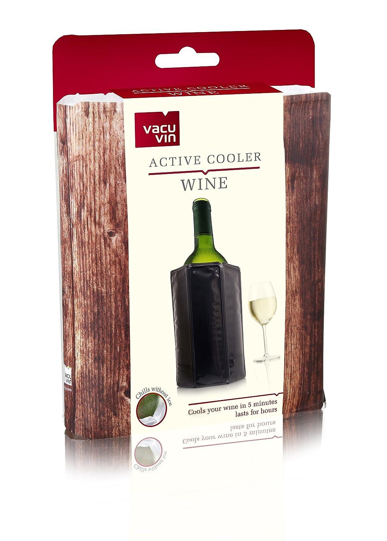 Compra Vacu Vin 38825606 Enfriador Activo, Color Madera Vino, plástico en Amazon.es