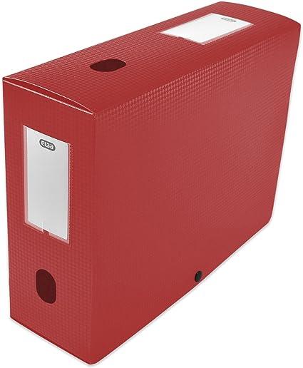 Elba 400094577 caja de índice con dos 100 mm polipropileno opaco ...