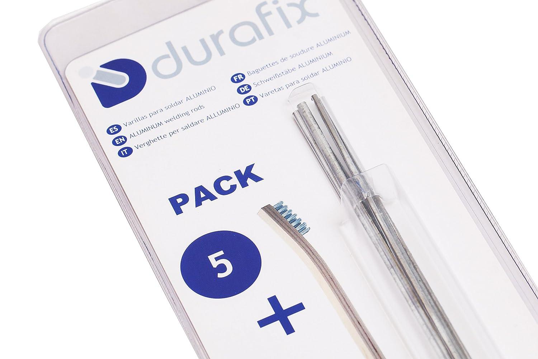 Durafix Easyweld Aluminium Soudure Brazing /& Soldering 5 Rod Kit Dura Fix