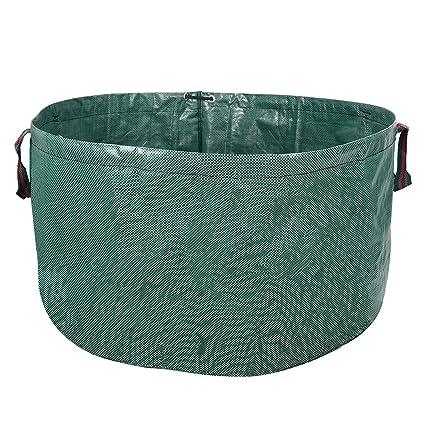 Bon Holfcitylf 63 Gallons Pop Up Garden Garden Waste Bags Container Spring  Buckets Collapsible Durable Reusable