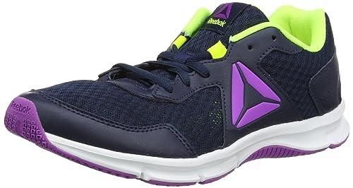 Express Runner, Zapatillas de Running para Mujer, Azul (Collegiate Navy/Solar Yel/Vic Violet/White), 38.5 EU Reebok