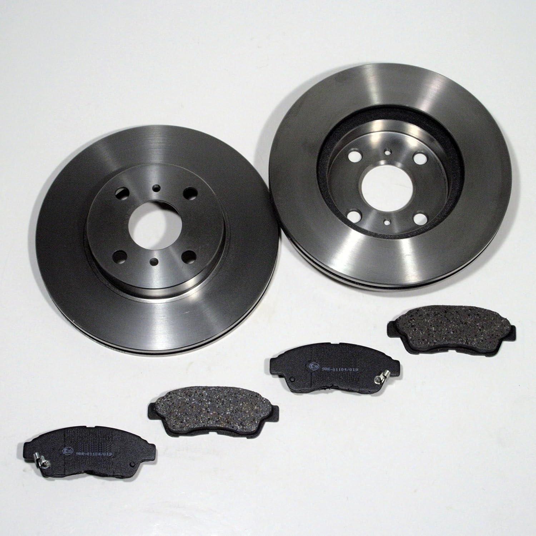 Bremsscheiben 255 mm Bremsen + Bremsbelä ge fü r vorne die Vorderachse Autoparts-Online