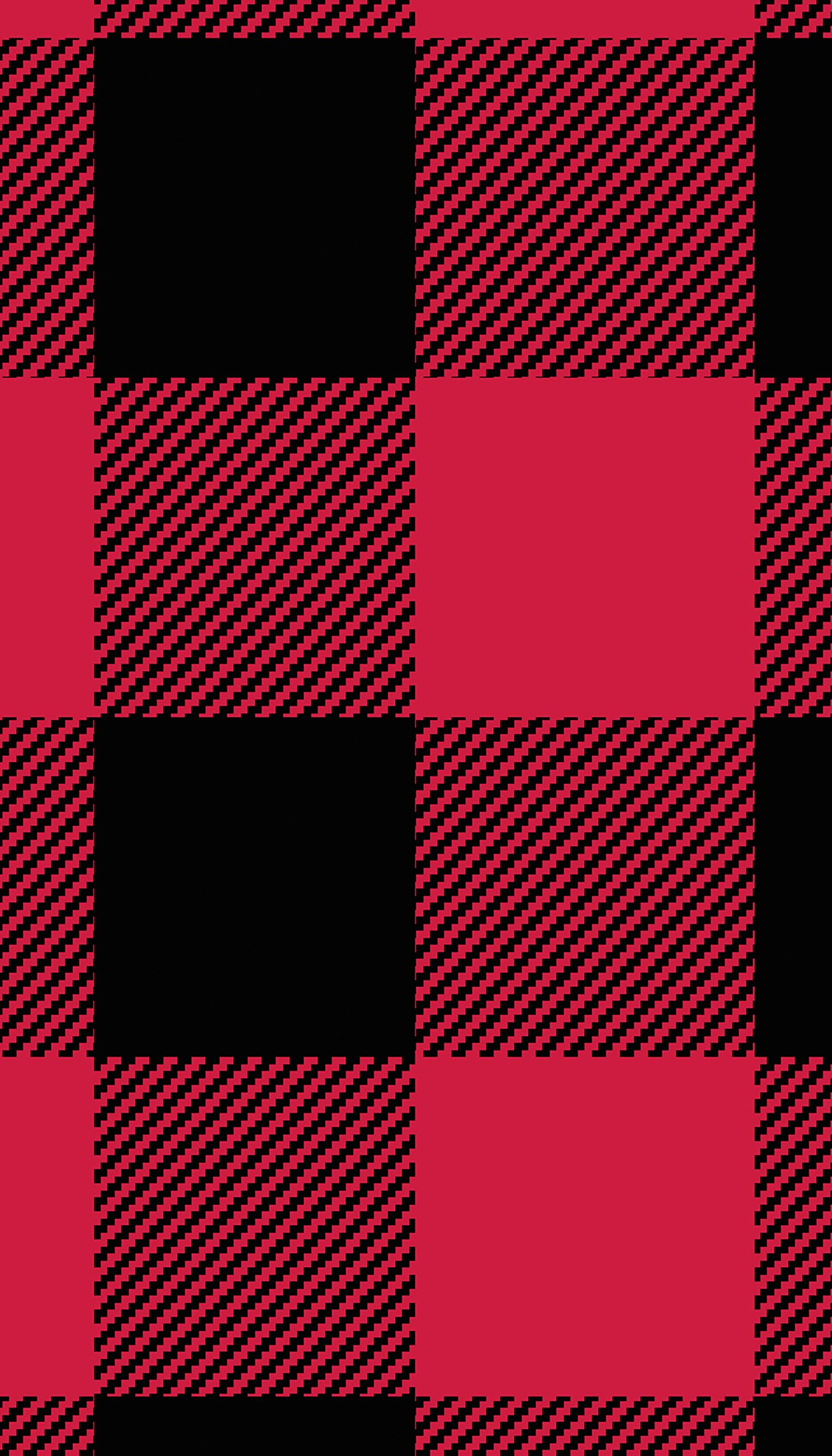 Karen Neuburger Girls' Little Family Matching Christmas Holiday Pajama Sets PJ, Buffalo Plaid red Cherry/Black Combo, Kid M by Karen Neuburger (Image #6)