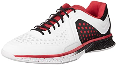 check out c1b81 cbae2 adidas Performance Herren Adizero Counterblast 7 Handballschuhe Weiß  (Crystal White S16Vivid Red S13