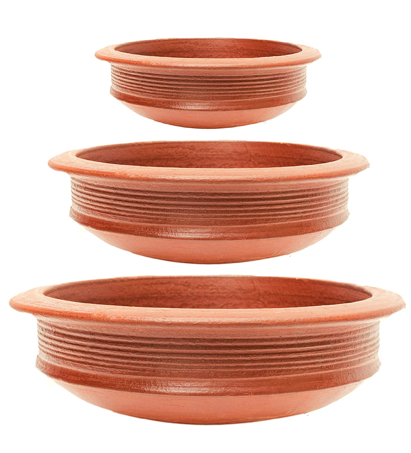 clay cooking pots buy online india Buy Craftaman India Online 2L, 2L and 2L Terracotta Clay Pots for
