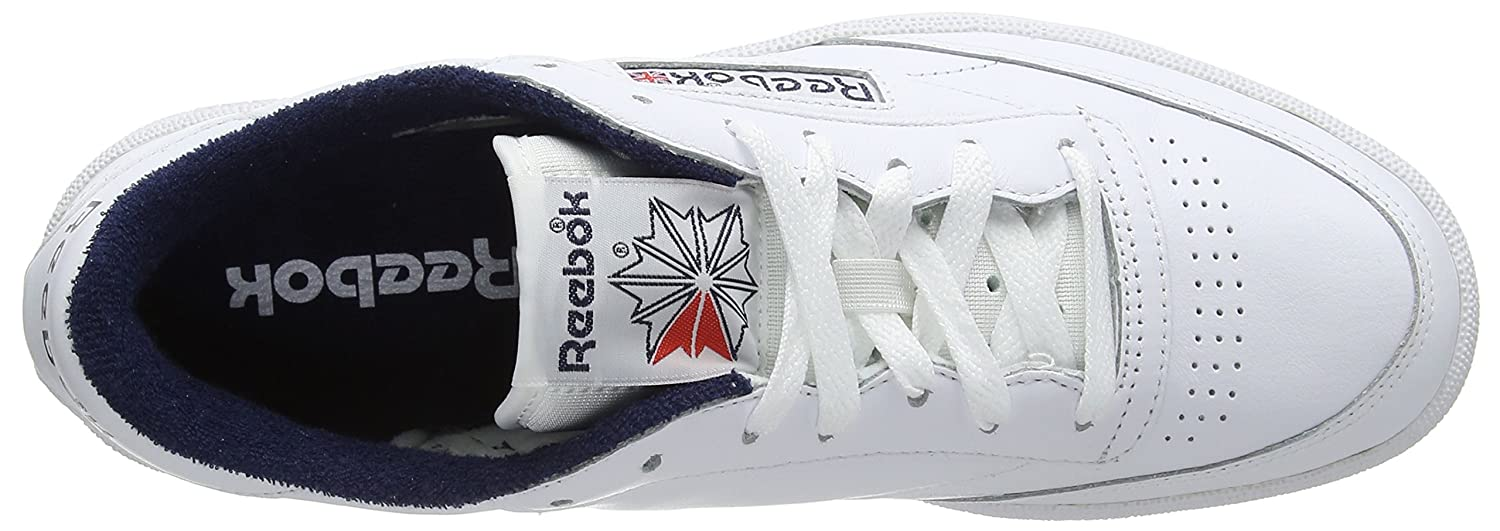 Basse Reebok Amazon 85 it Da Ginnastica C Club Archive Scarpe Uomo aPraUqn