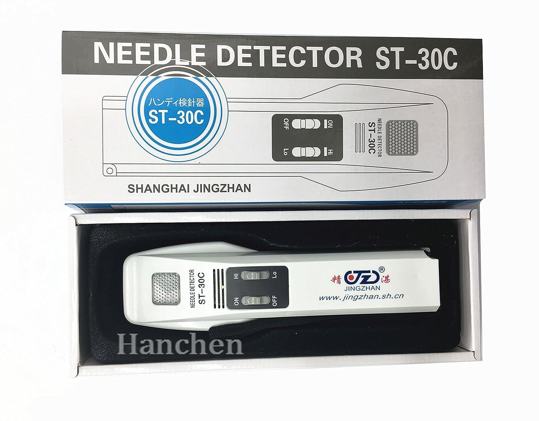 hanchen instrumento st-30 C soporte de alta sensibilidad Detector de metal sonda hierro instrumento detector de aguja: Amazon.es: Jardín