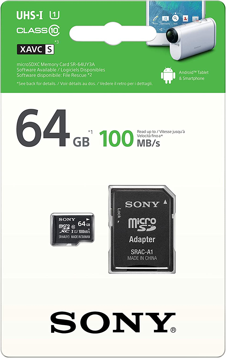 Sony HDR-PJ620 Camcorder Memory Card 2 x 32GB Secure Digital High Capacity Memory Cards SDHC 2 Pack