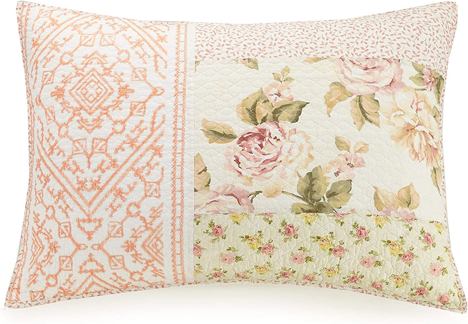 King Mary Janes Home Sweet Blooms Quilt Pink