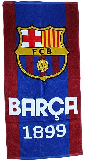 69faa026e50aa8 PSG Serviette de bain Drap de plage coton Fc barcelone Barça Messi Suarez