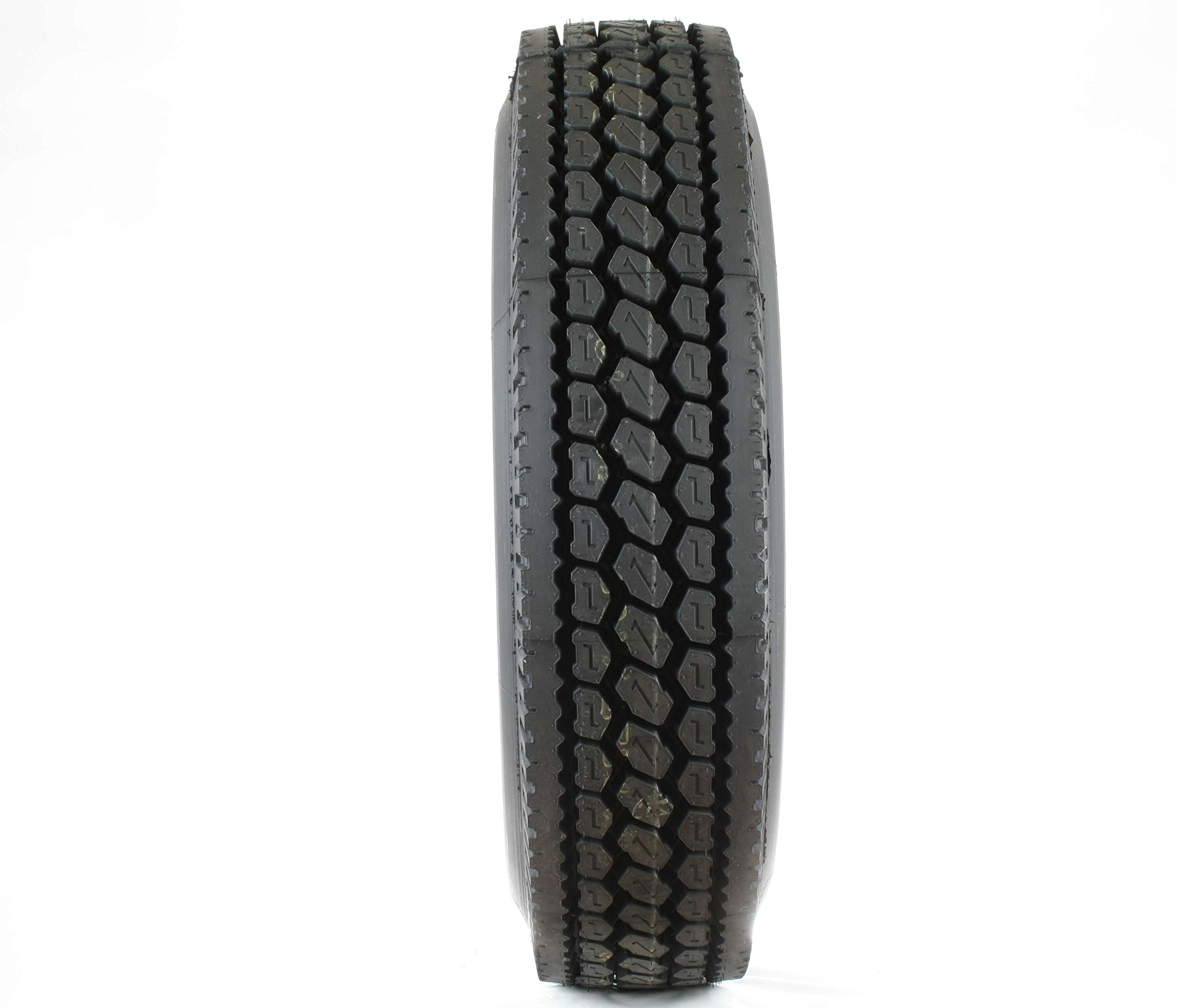 Double Coin RLB400 Closed Shoulder Drive-Position Commercial Radial Truck Tire - 11R22.5 14 ply