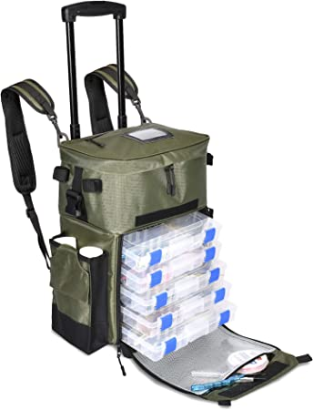 Calissa Offshore Tackle Non-Corrosive Fishing Backpack