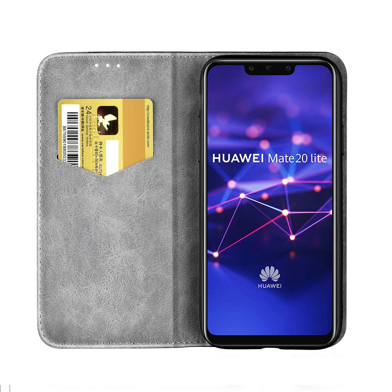 FNBK - Funda para Huawei Mate 20 Lite, de piel, tipo libro ...