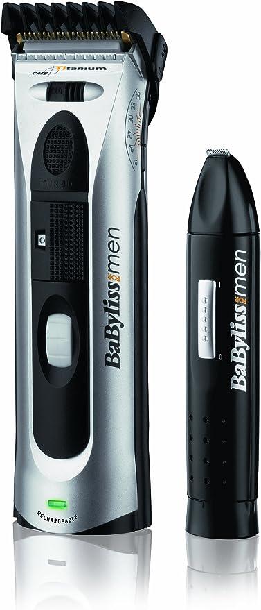 BaByliss E773XDE cortadora de pelo y maquinilla - Afeitadora ...