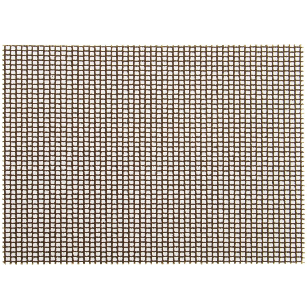 3M Grey Metal Polishing Screen Refills For Cool Griddle Cleaning System - 4L x 5 1/2 W