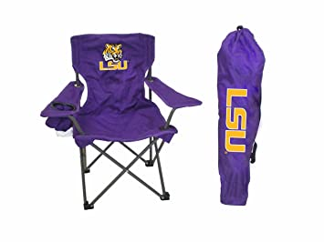 Merveilleux Rivalry NCAA LSU Tigers Youth Folding Chair With Carrying Case
