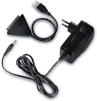 CSL - USB 3.0 Sata Cable Adaptador convertidor para HDD Unidades ...