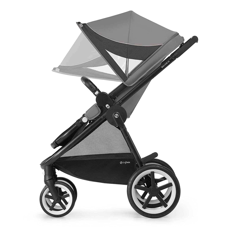 CYBEX Gold Kinderwagen Balios M Denim Blue ca. 4 Jahre Ab 6 Monate bis 17 kg Mit wendbarem Komfortsitz und Schutzb/ügel