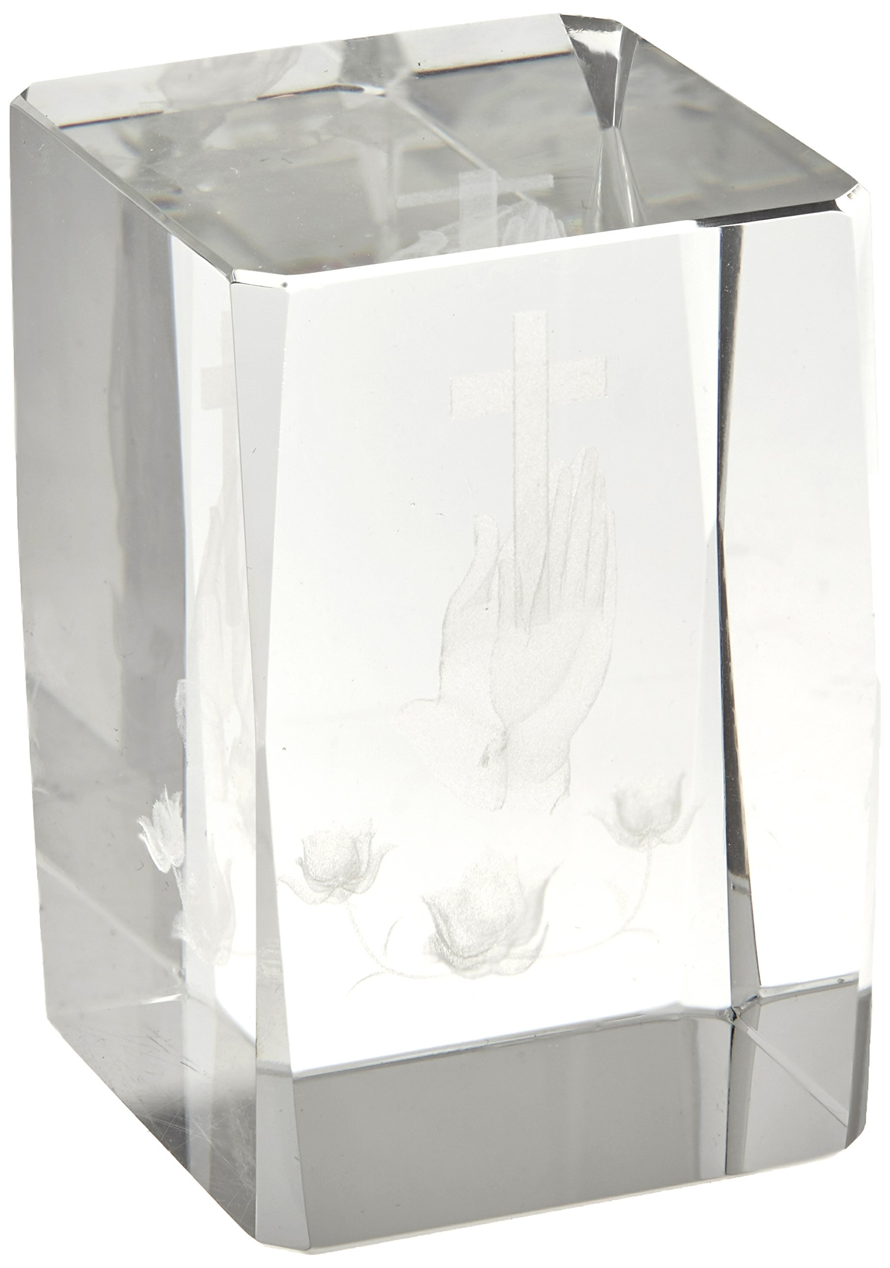 Artisano Designs ''Blessed Prayer'' Laser Etched Crystal Favor, Set of 4 by Artisano Designs