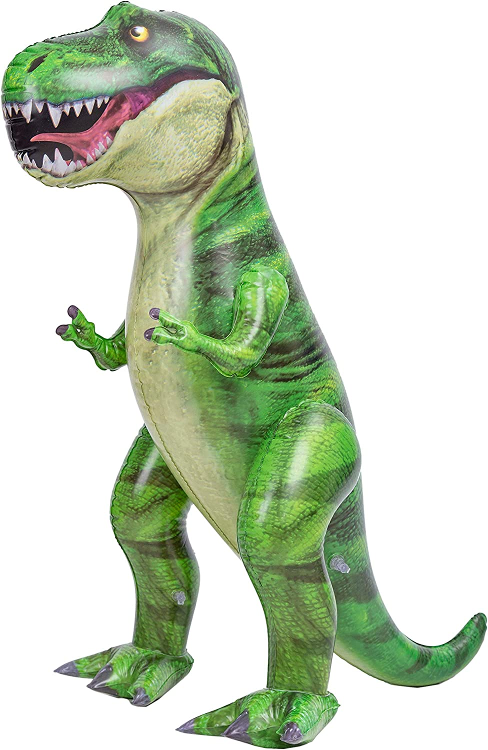 "JOYIN 37"" T-Rex Dinosaur Inflatable, Tyrannosaurus Rex Inflatable Dinosaur Toy for Pool Party Decorations, Dinosaur Birthday Party Gift for Kids and Adults"