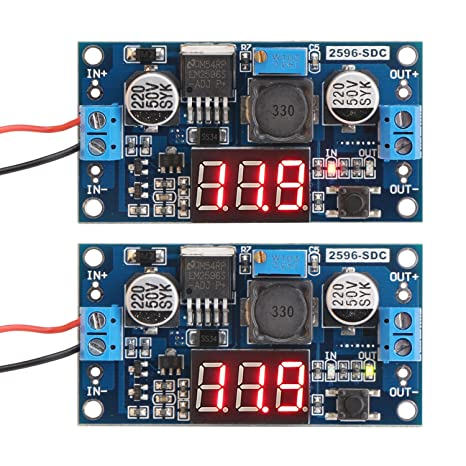 R/égulateur de tension Convertisseur Buck Converter 8-40 V vers 12 V Convertisseur Boost Buck Voltage R/égul/é Alimentation Module Transformateur