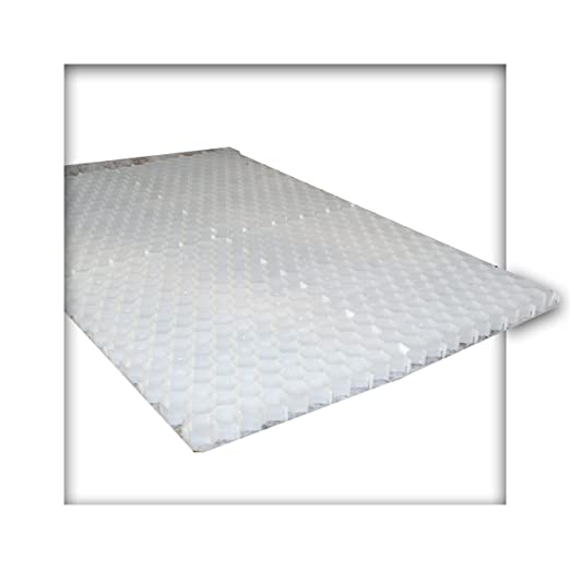 8 placas blancas con forma de panal de abejas, 7, 68 m², incluye ...