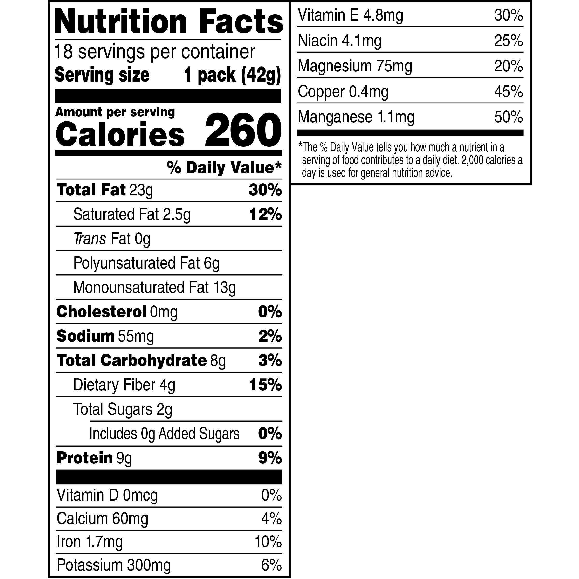 NUTrition Heart Healthy Nut Mix (1.5 oz Bags, Pack of 18) by Planters (Image #2)