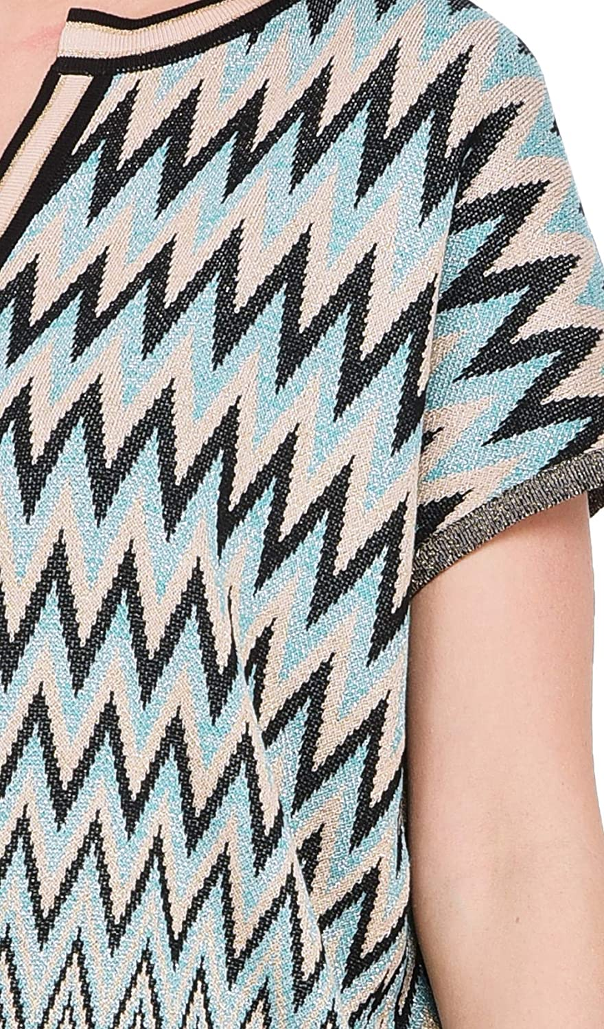 3654 Graphic Print Sweater Summer Collection Women
