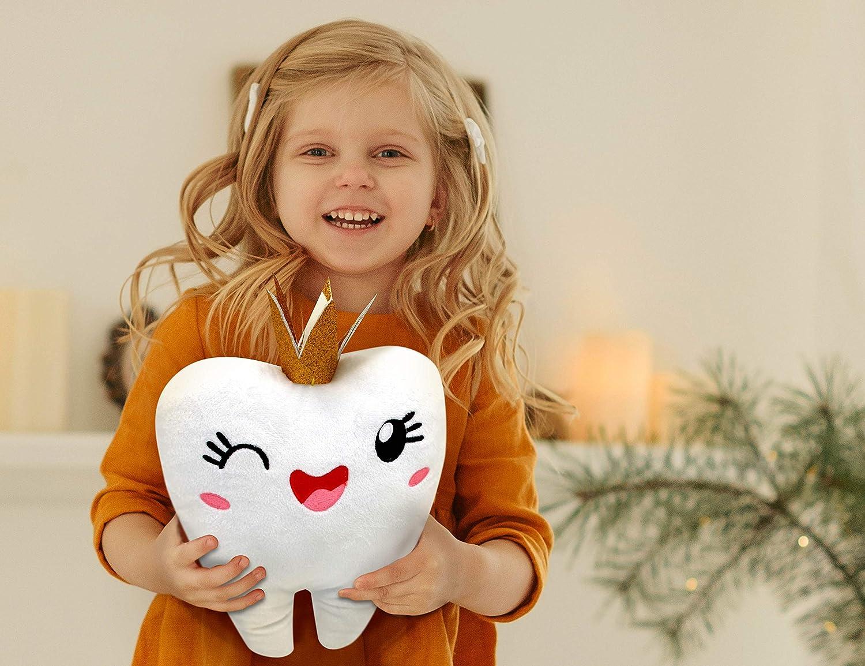 Tooth Fairy Girl Girls Teeth ToothFairy Box for Girls Baby Tooth Box Keepsake Girl Tooth Fairy Gifts for Girls Tooth Fairy Pillows for Girls Tooth Fairy Coins Girls Tooth Necklace for Girls