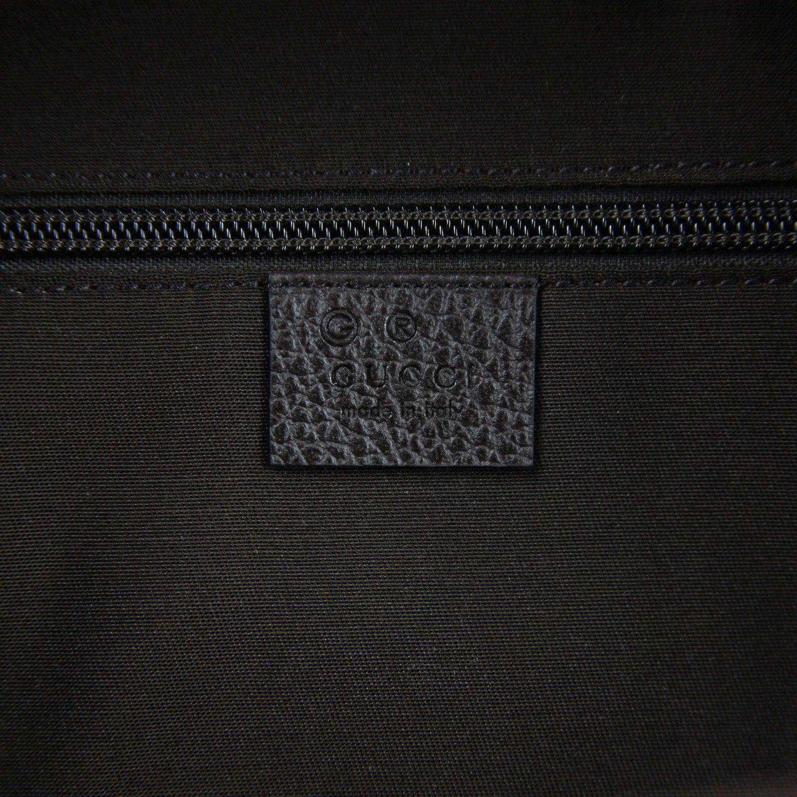 5d905ec70 Gucci Unisex Zipper Top Beige/Brown GG Canvas Backpack 449906 9873 ...