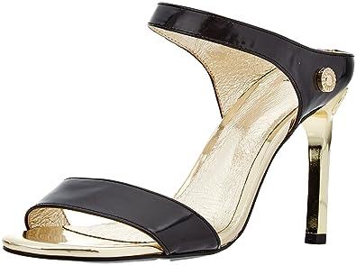 74db2960a773 Versace Jeans Scarpa, Escarpins Bride Cheville Femme, Noir (Nero E899), 36