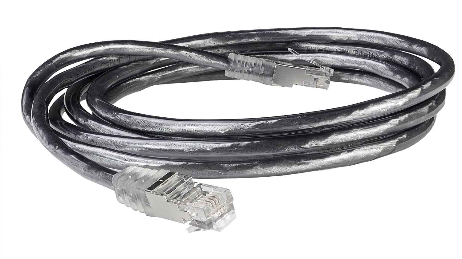 100 Feet, 30.48 Meters Gray C2G 28726 RJ11 High-Speed Internet Modem Cable