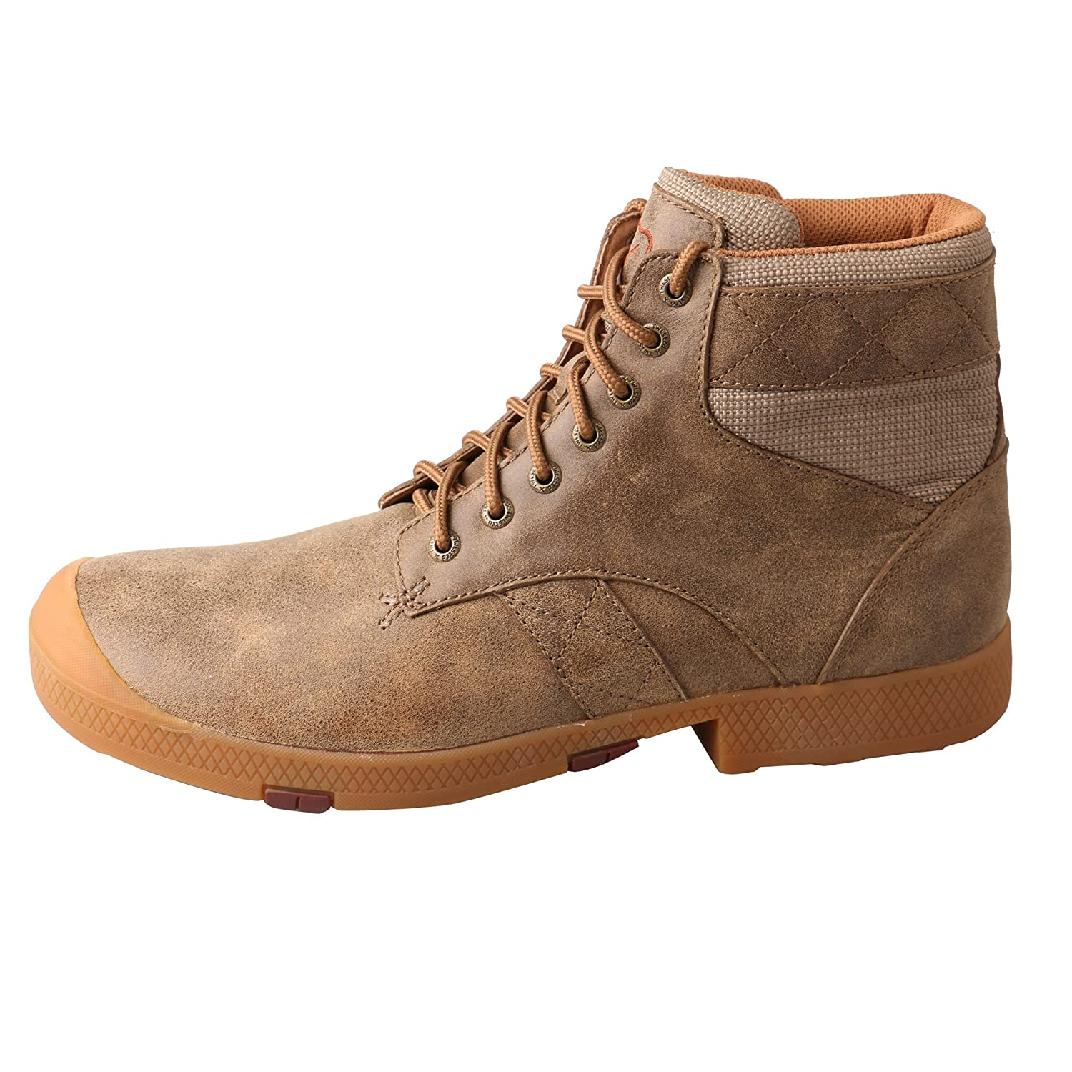 9f50c25d07de Amazon.com  Twisted X Men s Casual Lace-Up Boot Round Toe Bomber 11.5 EE  US  Clothing