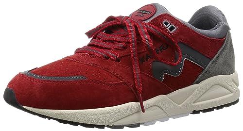 Karhu - Zapatillas de Cuero para Hombre Azul Rojo: Amazon.es: Zapatos y complementos