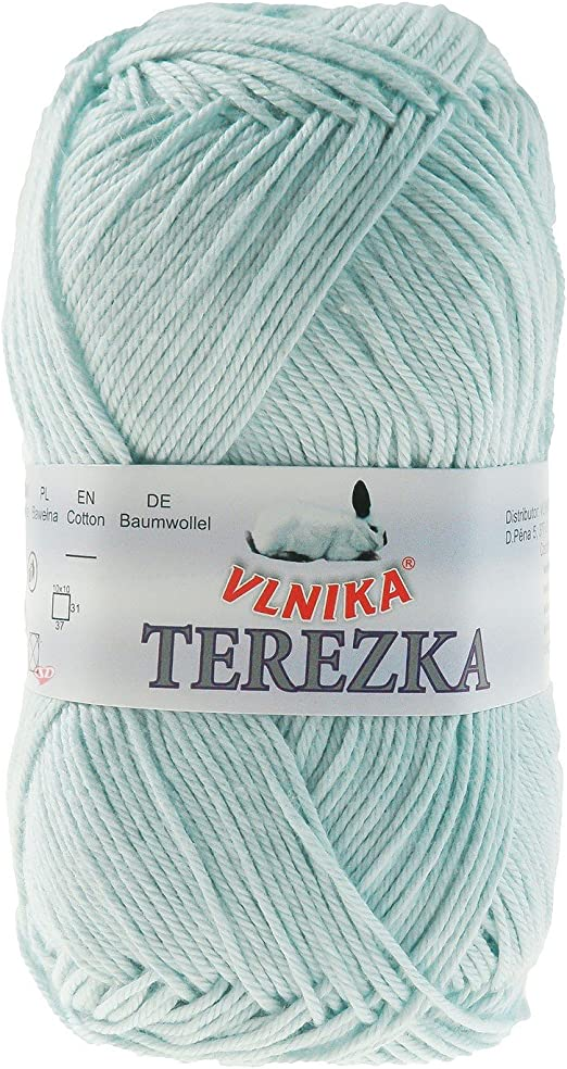maDDma Terezka - Ovillo de Lana (100% algodón, 50 g, 155 m), Color ...